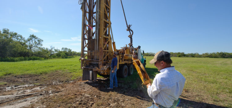 Drilling for Water – The Story of a Well.