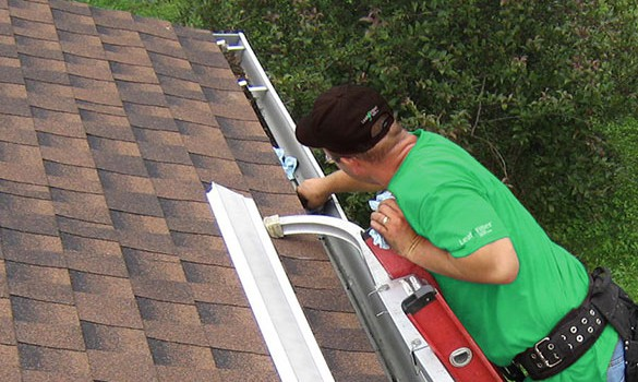 Rain Gutter Downspout Maintenance