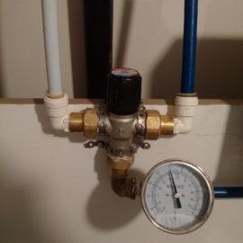 Installing a Mixing Faucet (Part 1)