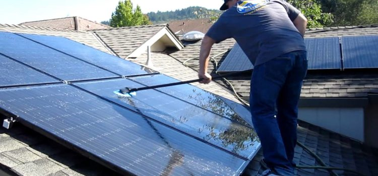 Why Should I Clean My Solar Panels?