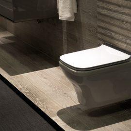 Flangeless WC